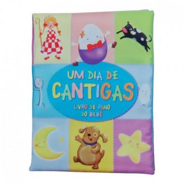 Livro de Pano do Bebê - Um Dia De Cantigas - Bicho Esperto