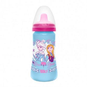 Copo Colors 300ml Elsa e Anna Bico de TPE - Lillo