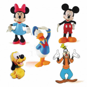Kit Brinquedos em Latex Disney Turma do Mickey - Latoy