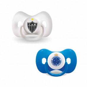Chupeta Borboleta Orto T2 Cruzeiro ou Atlético - Kids Gol