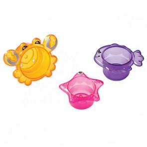 3 Potes no Banho