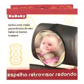 Espelho Retrovisor Redondo - Kababy