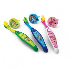 Escova Dental Infantil Com Capa Padrinhos Mágicos