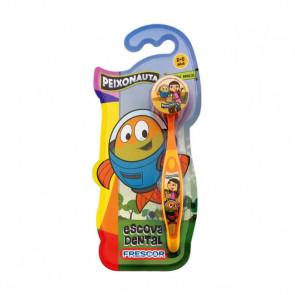 Escova Dental Infantil Com Capa Peixonauta