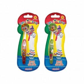 Escova Dental Infantil Com Capa Patatá