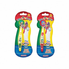 Escova Dental Infantil Com Capa Patati
