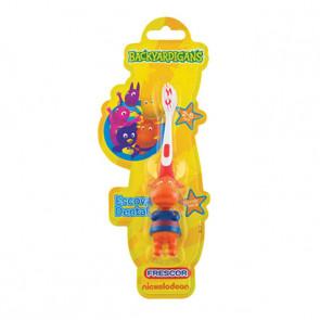 Escova Dental Infantil 3D Backyardgans Tyrone