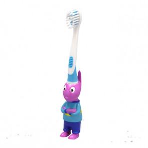 Escova Dental Infantil 3D Backyardgans Austi - Frescor