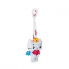 Escova Dental Infantil 3D Angel Cat - Frescor