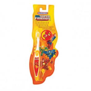Escova Dental Infantil Com Capa Flash