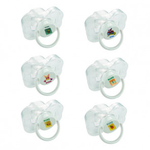 Chupeta Cristal com Protetor Orto T2 - Kuka
