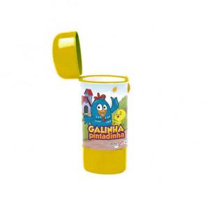 Estojo Dental Kids Fun Galinha Pintadinha Amarelo