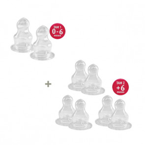 Kit Orto Silicone: 1 x Bico T1 + 3 x Bico T2 - Lillo