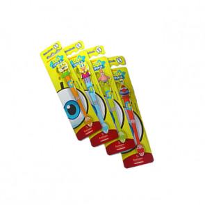 Escovas Dentais Infantil 3D Bob Esponja