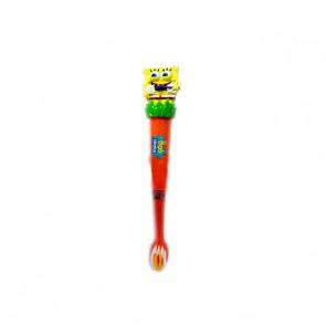 Escova Dental Infantil 3D Bob Esponja Abacaxi - Biotropic