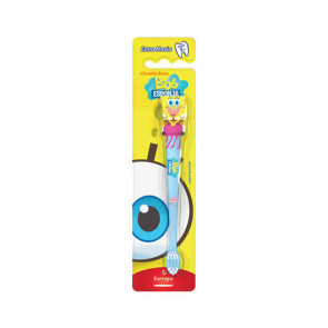 Escova Dental Infantil 3D Bob Esponja Água Viva