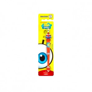 Escova Dental Infantil 3D Bob Esponja Sirigueijo