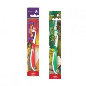 Escovas Dentais Infantil 2D Sherek e Madagascar