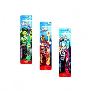 Escovas Dentais Infantil 3D Marvel Avengers
