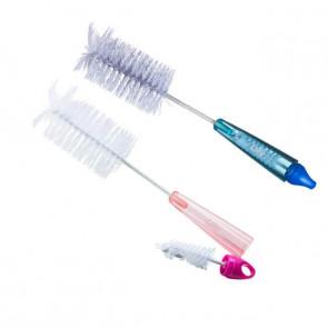 Escova de Limpeza 2 x 1 Mamadeira e Bicos - Lolly