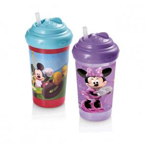 Copo 300ml Disney Bico de Silicone - Multkids Baby