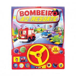 Livro Sonoro: Bombeiro ao Resgate - Bicho Esperto