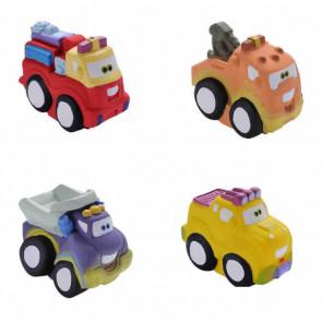 Kit Brinquedos em Latex Caminhões