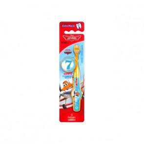 Escova Dental Infantil 2D Aviões Dusty