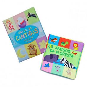 Kit Livros de Pano - Bicho Esperto
