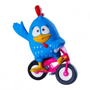 Boneco Galinha Pintadinha Bike