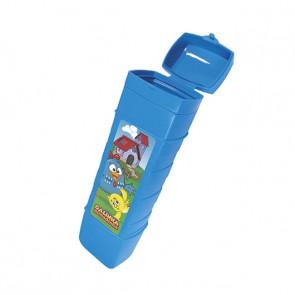 Estojo Dental Infantil Azul Galinha Pintadinha