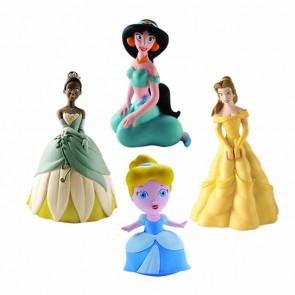 Kit brinquedos látex disney princesas